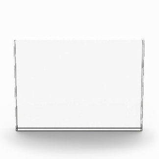 custom photo horizontal plaque award photo block