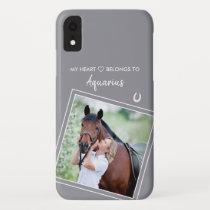 Custom Photo Horse Lover iPhone XR Case
