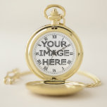 "Custom Photo Insert personalized Pocket Watch<br><div class=""desc"">Custom personalised pocket watch with photo insert. Great gift idea to personalize with name or photo.</div>"