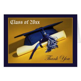 Custom Photo (inside) Graduation Thank-You Card 01