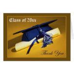 Custom Photo (inside) Graduation Thank-You Card 02