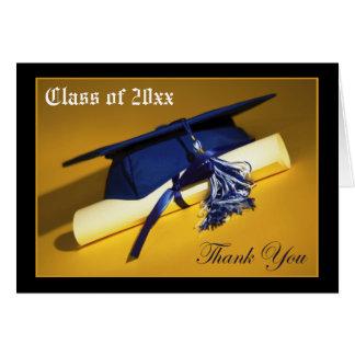 Custom Photo (inside) Graduation Thank-You Card 04