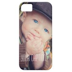 Custom Photo Iphone 5/5s Case at Zazzle