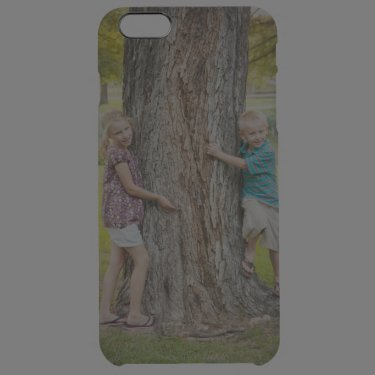 Custom Photo iPhone 6 Plus Case Uncommon Clearly™ Deflector iPhone 6 Plus Case
