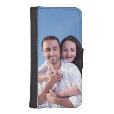 Custom Photo Iphone Se/5/5s Wallet at Zazzle
