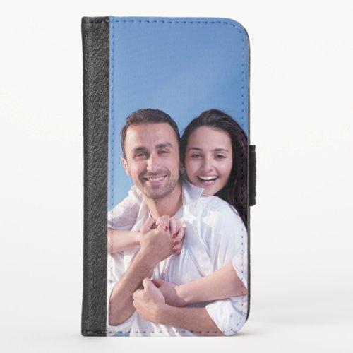 Custom Photo iPhone X Wallet Case