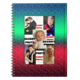 Custom Photo Journal Notebook