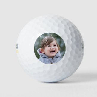 Custom Photo Keepsake Golf Balls