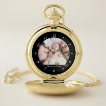 Custom Photo Keepsake Picture Color Image Pocket Watch