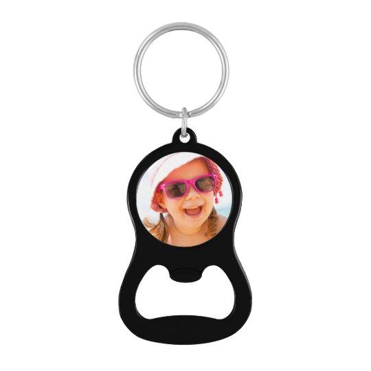 custom photo key chain bottle opener zazzle. Black Bedroom Furniture Sets. Home Design Ideas