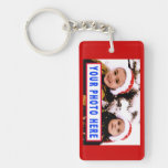 Custom Photo Key Chain proportioned for 4x6 Photo