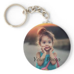 Custom Photo Keychain<br><div class='desc'>Create your own personalized basic button keychain with your custom image. Add your favorite photo, design or artwork to create something really unique. To edit this design template, click &#39;Change&#39; and upload your own image as shown above. Click &#39;Customize It&#39; button to add text, customize fonts and colors. Treat yourself...</div>
