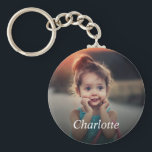 "Custom Photo Keychain<br><div class=""desc"">Create your own personalized keychain with your custom image. Add your favorite photo, design or artwork to create something really unique. To edit this design template, click"