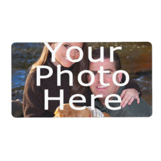 Custom Photo Labels Shipping Labels