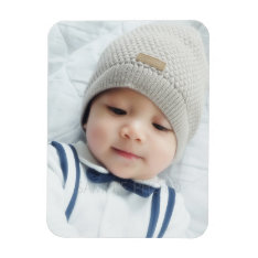 Custom Photo Magnet at Zazzle