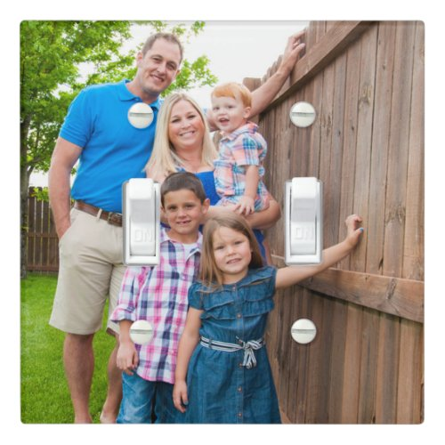 Custom Photo Make Your Own Add Picture Family Light Switch Cover