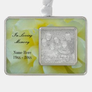 Custom photo memorial ornament | In loving memory