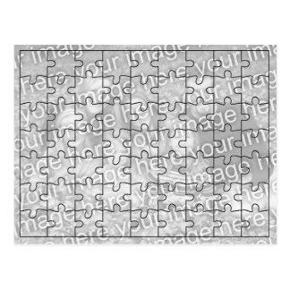 Custom Photo Mock Puzzle Post Card-63 pieces