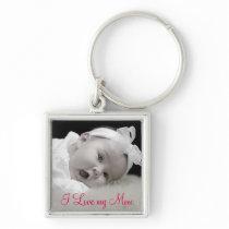 Custom Photo, Mom, Mother's Day Keychain