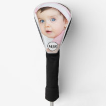 Custom Photo | Monogram Personalized Golf Head Cover