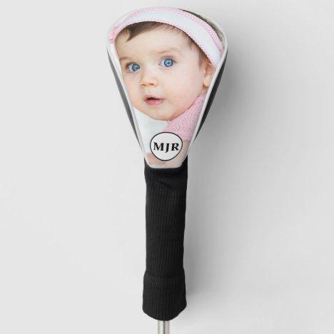 Custom Photo | Monogram Personalized Golf Head Cover