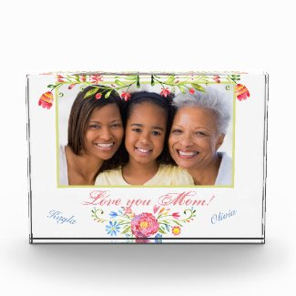 Custom Photo, Mothers Day Acrylic Gift