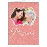 Custom Photo Mother's Day Card