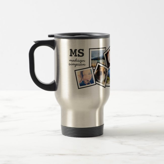 Custom Photo Mug with 10 Pictures
