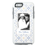 Custom Photo & Name Floral Pattern 13 OtterBox iPhone 6/6s Case