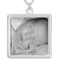 Custom Photo Necklace at Zazzle