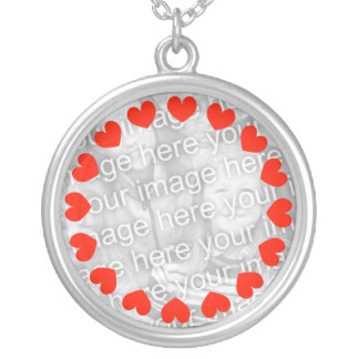 Custom photo necklace | Add your picture image