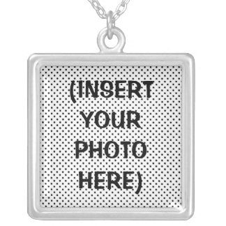 CUSTOM PHOTO NECKLACE - CREATE YOUR OWN (square)