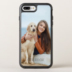 Custom Photo Otterbox Apple Iphone 7 Plus Case at Zazzle