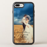 "Custom Photo OtterBox iPhone 8 Plus/7 Plus Case<br><div class=""desc"">Add your own photo to your OtterBox Apple iPhone Case. Just replace the sample photo in the design area. Modern and elegant fonts are available to add optional text. You can easily add a monogram initial too. Create yours today!</div>"