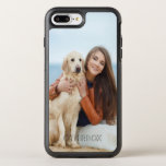 """Custom Photo OtterBox iPhone 8 Plus/7 Plus Case<br><div class=""""desc"""">Add your own photo to your OtterBox Apple iPhone Case. Just replace the sample photo in the design area. Modern and elegant fonts are available to add optional text. You can easily add a monogram initial too. Create yours today!</div>"""