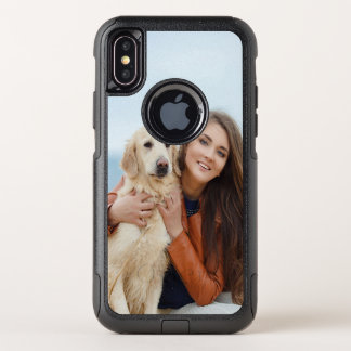 Custom Photo OtterBox iPhone X Commuter Case