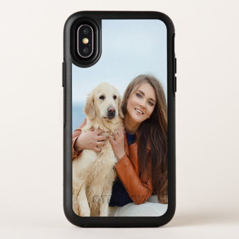 Custom Photo OtterBox iPhone X Symmetry Case