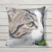 Custom photo outdoor throw pillow | Add your image