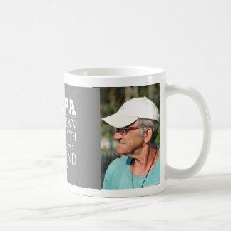 Custom Photo Papa The Legend Coffee Mug