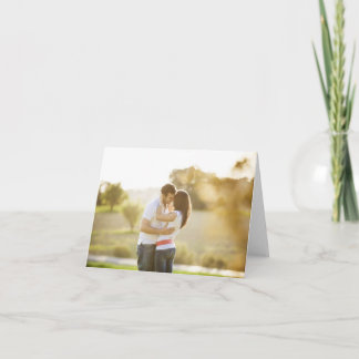 Custom Photo Personalized Blank Note Cards