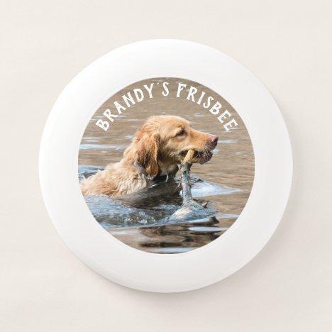 Custom Photo Personalized Dog Wham-O Frisbee