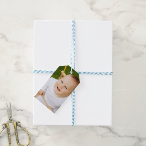 Custom Photo Personalized Gift Tags