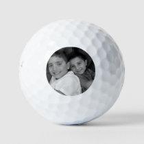 Custom Photo Personalized Golf Ball Birthday