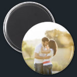 "Custom Photo Personalized Magnet<br><div class=""desc"">Cute personalized magnet with your custom photo.</div>"