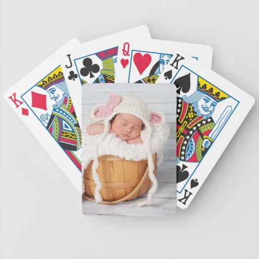 Custom Photo Personalized Bicycle Playing Cards
