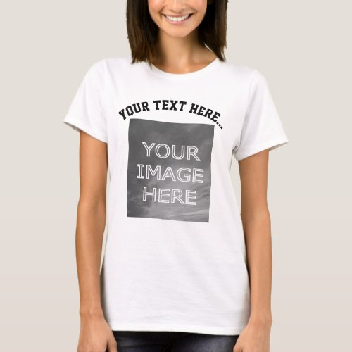 Custom Photo Personalized T_Shirt