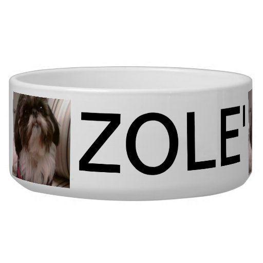 Custom Photo Pet Bowl