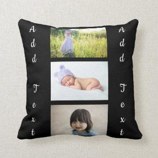 Custom Photo Pillow. Throw Pillow