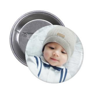 Custom Photo Pinback Button