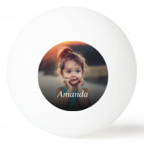 Custom Photo Ping Pong Ball